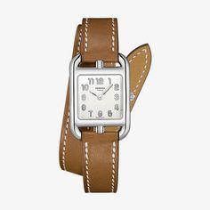 ba9e11cf2eaa Hermès Cape Cod Watch With Natural Barenia Calfskin Strap