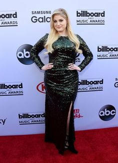 Meghan Trainor at the Billboard Music Awards // #style