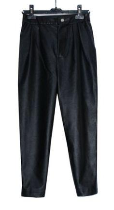 Pantalón cuero Branding Design, Sweatpants, Womens Fashion, Fashion Design, Leather, Pants, Women's Fashion, Corporate Design, Woman Fashion