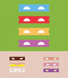 turtle masks