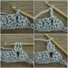 Bobble stitch infinity scarf - Crochet Tutorial