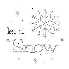 Jenaissance Designs -  free Let It Snow pattern