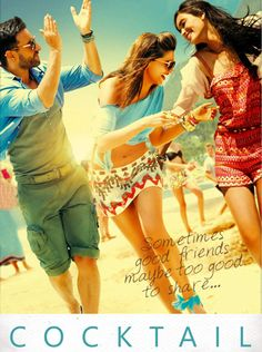 Cocktail is a Bollywood Romantic Comedy film starring Saif Ali Khan, Deepika Padukone and debutante Diana Penty in the lead roles. Hindi Movies Online, Watch Free Movies Online, Watch Movies, Dramas Online, Bollywood Movie Trailer, Movies Bollywood, Tamil Movies, Bollywood Cinema, Bollywood Updates
