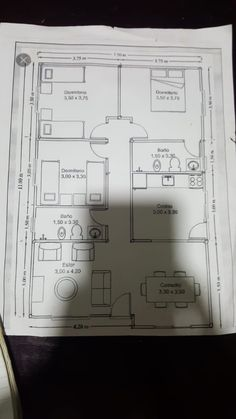 Best 12 Sarai Perez's media content and analytics – SkillOfKing. Town House Plans, House Layout Plans, Dream House Plans, House Layouts, Family House Plans, 4 Bedroom House Designs, Three Bedroom House Plan, Bungalow House Design, Bungalow Floor Plans