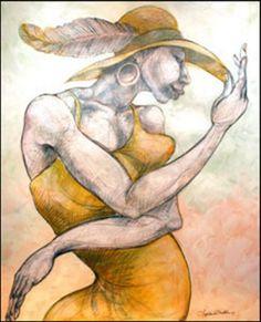 Charles Bibbs: Feathered Hat
