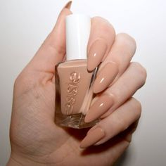 Essie Gel Couture Ballet Nudes At The Barre Essie Gel, Nudes, Summer Nails, Nail Polish, Manicure, Ballet, Beauty, Couture, Nail Manicure
