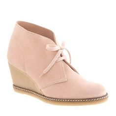 MacAlister wedge boots #Jcrew