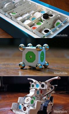 Modular robotics kit Moss combines education and fun by letting kids create objects and control them with a smartphone.