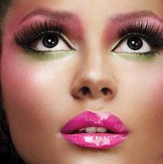 So Pretty! Can't wait to try this look!  From ourvanity.com
