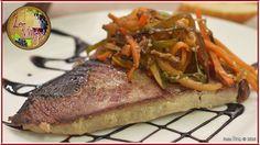 Este lomo de atún a la plancha con verduritas al estilo wok te está diciendo 'cómeme'... Ya sabes! ;-)