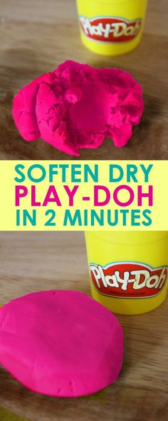 How to soften dry pl