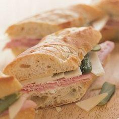 Baguette Lunch on Pinterest | Baguette Recipe, Baguette Sandwich and ...