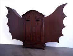 bat wing wardrobe