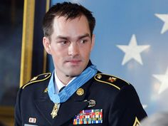 Obama awards Medal of Honor to Afghan battle hero retired Sgt. Major Clinton Romesha (Photo: Mandel Ngan / AFP - Getty Images) 2/11/13  The ceremony was so touching.