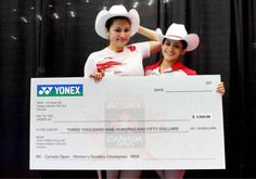 Indian shuttlers #JwalaGutta and #AshwiniPonnappa wins #CanadaOpen Grand Prix.