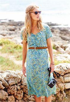 2016 Spring Summer Adini Pacific Dress in Astoria Aqua from www.melburygallery.co.uk/shop/adini/ #Adini xx