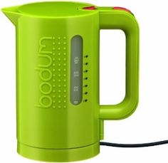Bodum 11452-565US 34-Ounce Electric Water Kettle, Green | July 28 | 19% Price Drop to $53.94 on Amazon DIGITAL FOLIO Price Chart: http://www.digitalfolio.com/Shop/Bodum-11452-565US-34-Ounce-Electric-Water-Kettle-Green/Amazon/B00851LRI0