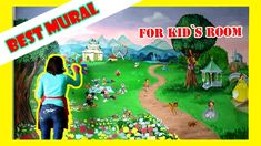 The Biggest Mural Painting of my Life - Disney character on a Wall in a . Mural Painting, Mural Art, Of My Life, Art Projects, Kids Room, Disney Characters, Wall, Art Designs, Wall Art