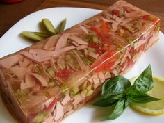Tak to urcite vyzkousim I definitely try this to make! Slovak Recipes, Czech Recipes, Ethnic Recipes, Appetizer Sandwiches, Appetizers, Healthy Snacks, Cabbage, Good Food, Brunch