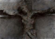 Boissoudy Christ 21×29,7 Lavis de feutre sur papier Washed felt-tip pen on paper 2012