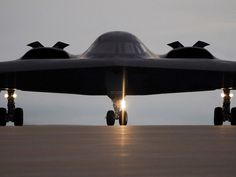 Amazingly technologically advanced waist of tax payers money B2 Bomber Aircraft Taxiing