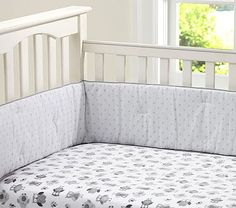 Woodlands Crib Fitted Sheet #pbkids