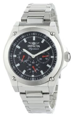 Men's Wrist Watches - Invicta Mens 7309 Signature II Collection MultiFunction Stainless Steel Watch * Check this awesome product by going to the link at the image. (This is an Amazon affiliate link)