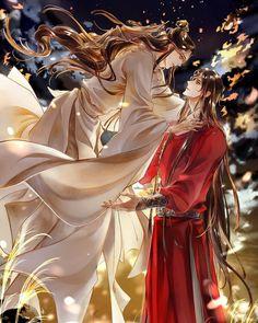 Anime Love Couple, Fanarts Anime, Shounen Ai, Anime Fantasy, Light Novel, Fantasy Artwork, Anime Artwork, Fujoshi, Chinese Art