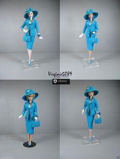 Tenue Outfit Accessoires Pour Fashion Royalty Barbie Silkstone Vintage 1438   eBay
