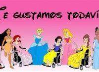 Princesas discapacitadas y un Pedro Picapiedra maltratador.