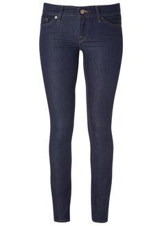 DARK DENIM JEAMS | 7 For All Mankind indigo stretch denim jeans. £195 at Harvey Nichols.