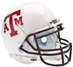 Texas A&M Aggies Schutt XP Mini Helmet - White