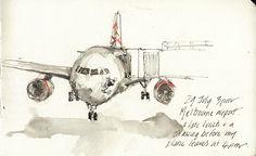 Artists' Journal Workshop: Travel sketchbook thoughts : Alissa Duke