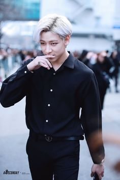 Kpop male fashion.