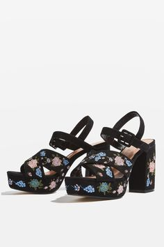 MARIGOLD Embroidered Platforms - New In Fashion - New In - Topshop