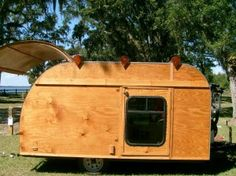 Pod Housing can be a geodistic dome on wheels. All if these can be on wheels. One example:  Man Turns Pop Up Trailer into Teardrop Camper.
