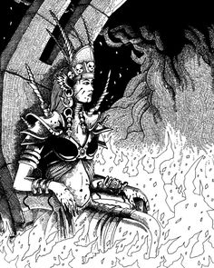 Demon Queen by pictishscout