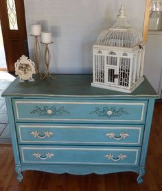 French Provincial Painted Dresser