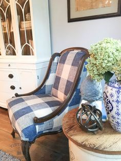 Get Inspired! Greenhouse Fabrics! My $10 Craigslist Chair