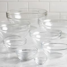 Love these!!! Lantana 10 Piece Stackable Bowl Glass