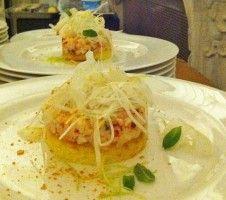 Tartare di astice. Lobster tartare.   #fingerfood #WalterBianconi #Dovevuoicatering #cucina #cooking  #tartare #astice #lobster