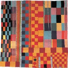Tejida abstracción. Teresa Lanceta