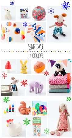 Sunday In Color... great little online shop for kids decor and toys.  ( via petit a petit and family)