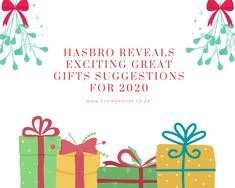 HASBRO REVEALS EXCITING GREAT GIFTS SUGGESTIONS FOR 2020 Play Doh Kitchen, Transformers Bumblebee, Toy R, Gift Suggestions, Baby Alive, Holiday Festival, Disney S, Power Rangers, Fashion Dolls