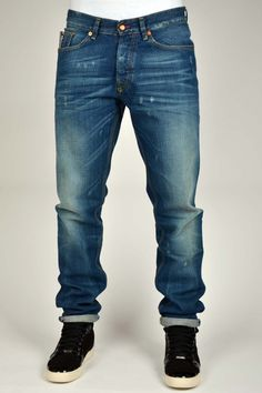BLUE BLOOD SHOOT JEANS