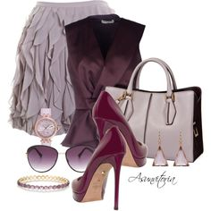 Sin título #1750 by asunvitoria on Polyvore featuring мода, Balenciaga, Club Monaco, Valentino, Tod's, Ted Baker, Ippolita, Irene Neuwirth and Vince Camuto