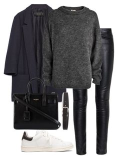 """Untitled #7255"" by katgorostiza ❤ liked on Polyvore featuring mode, Zara, Yves Saint Laurent, Étoile Isabel Marant en Acne Studios"