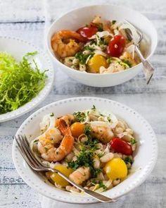Shrimp and Bean Salad