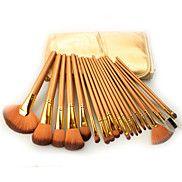 21+Brush+Sets+Synthetisch+haar+Professioneel+/+Reizen+/+Beugel+/+Draagbaar+Hout+Gezicht+/+Oog+/+Lip+Overige+–+EUR+€+34.29