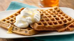Waffles made with Pillsbury refrigerated cookie dough? Why not! This decadent treat will make all your brunch dreams come true.